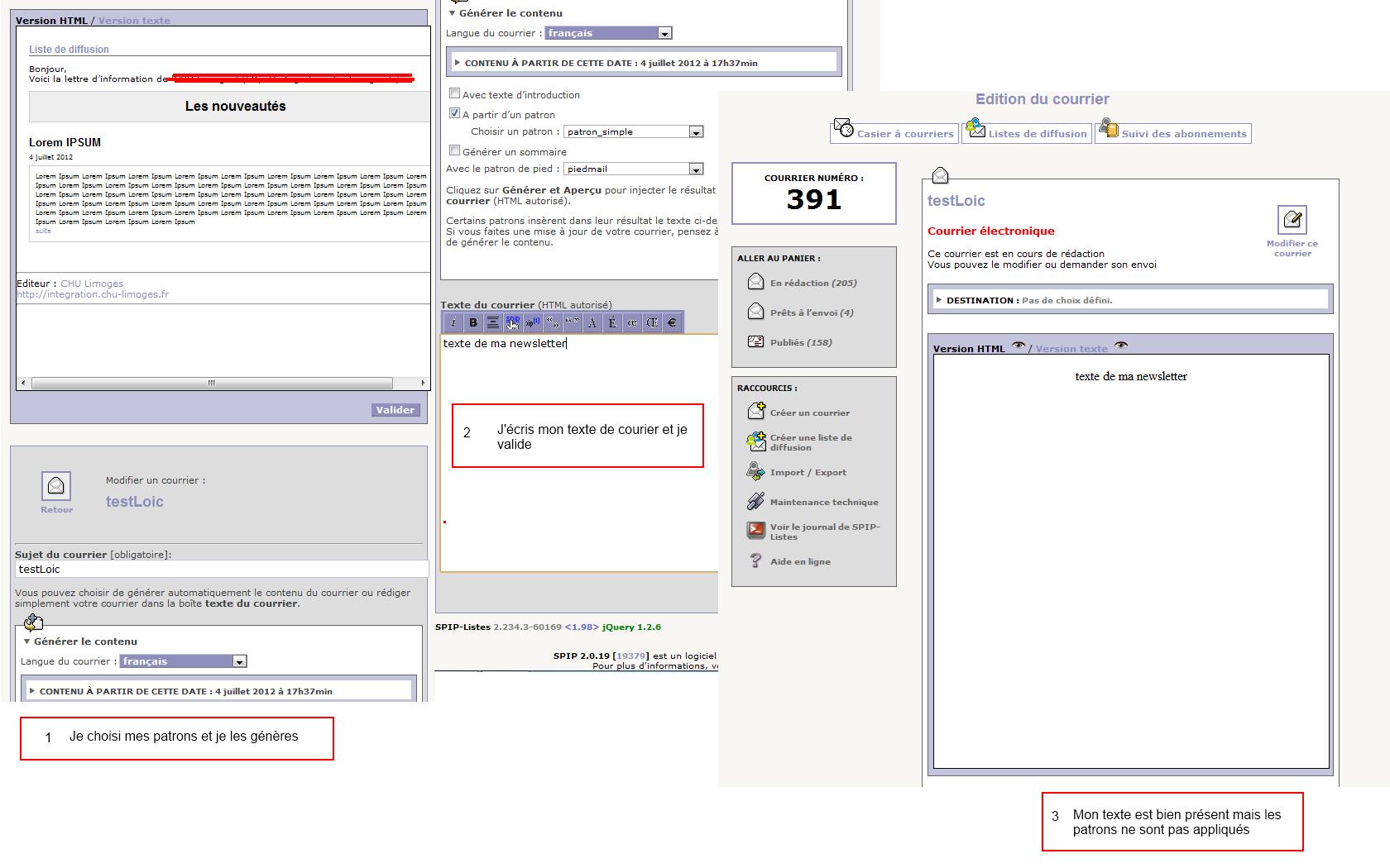 Premi re liste de diffusion sur spip listes spip contrib for Liste de diffusion